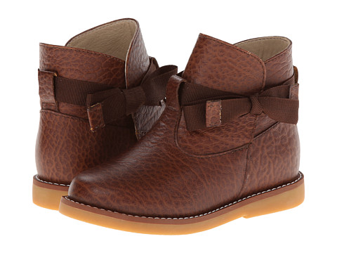 Elephantito Sophie Ankle Boot (Toddler/Little Kid/Big Kid) - Brown