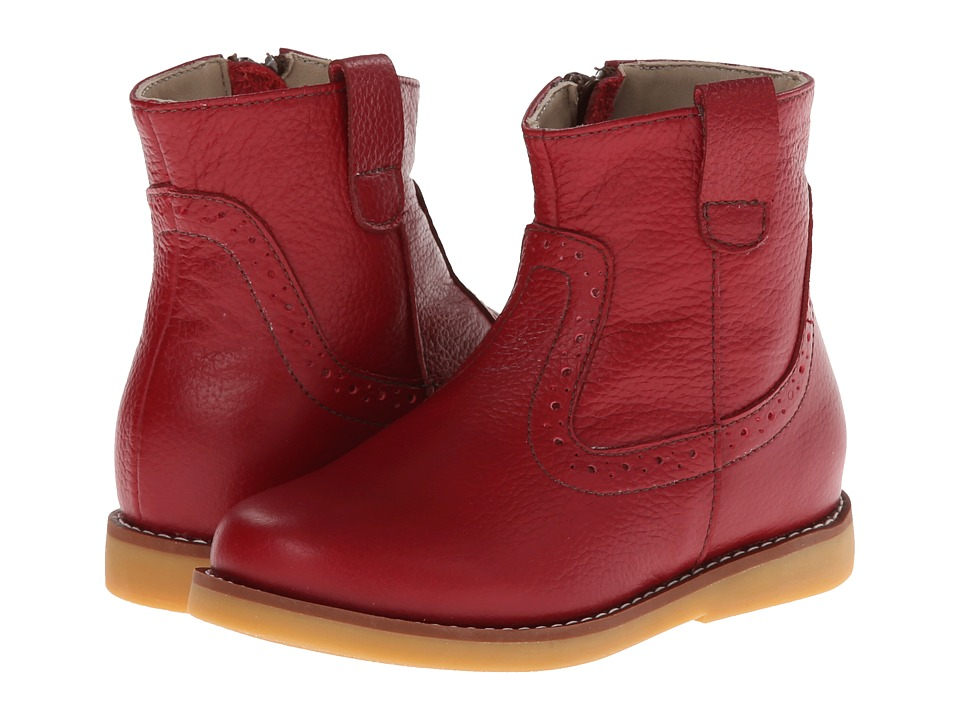 Elephantito Madison Ankle Boot Toddler/Little Kid/Big Kid Red Girls Shoes