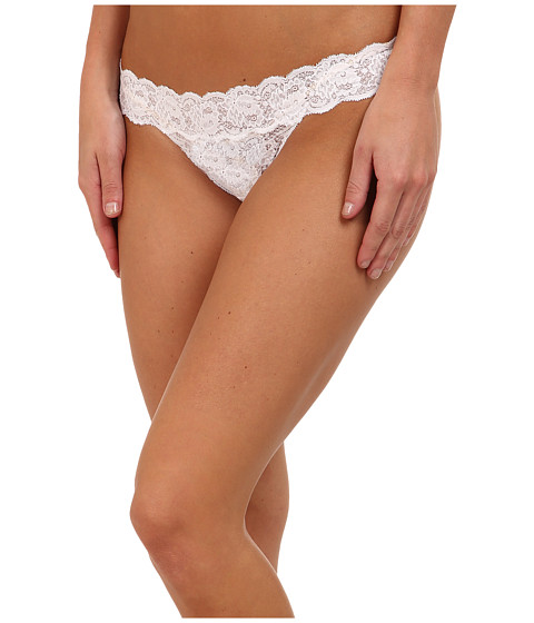 Cosabella Never Say Never Relaxed Thong - White
