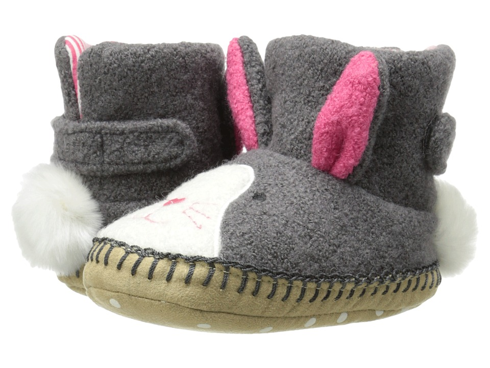 Hanna Andersson HA Bunny Toddler/Little Kid/Big Kid Grey Kids Shoes