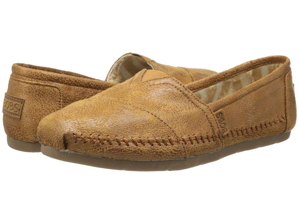 BOBS from SKECHERS - Luxe Bobs - Rain Dance (Chestnut) Womens Shoes