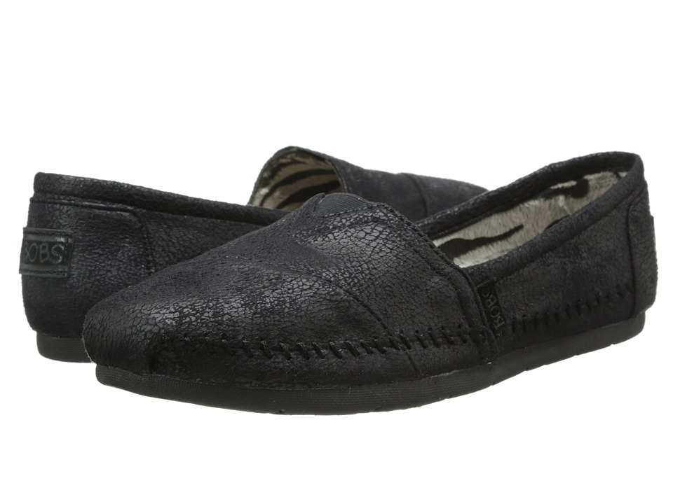 BOBS from SKECHERS - Luxe Bobs - Rain Dance (Black) Women...