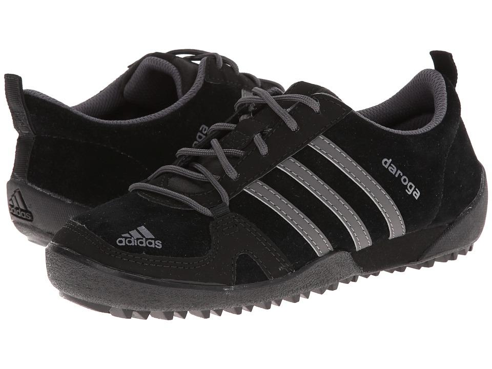 adidas Outdoor Kids Daroga Leather Little Kid/Big Kid Black/Granite/Black Kids Shoes