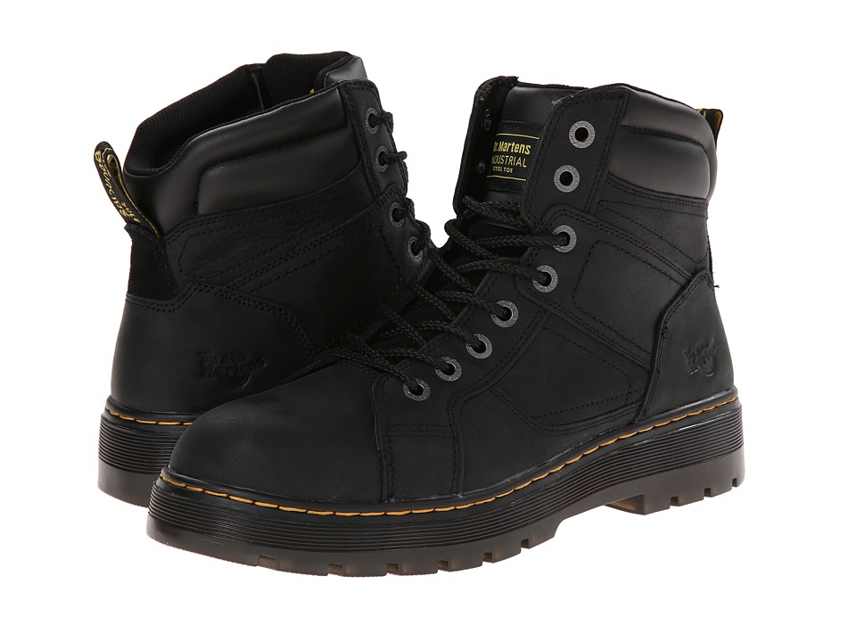 Dr. Martens Work Duct ST (Black Wyoming) Men's Work Boots