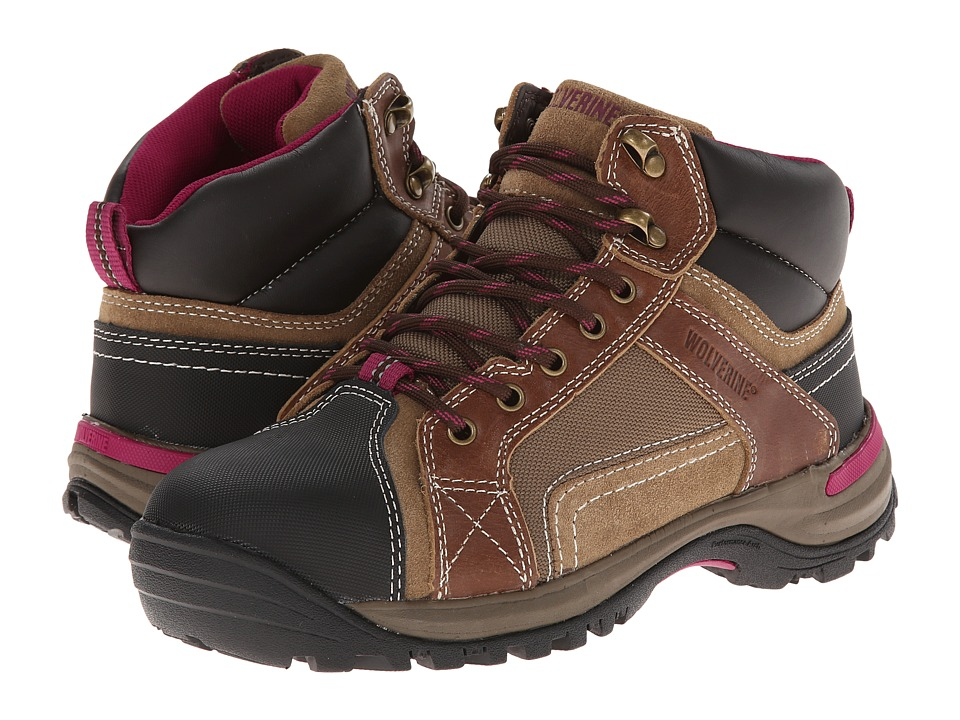 Wolverine Chisel Mid-Cut Hiker (Dark Brown) Women