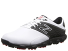 New Balance Golf Minimus LX White, Black Shoes