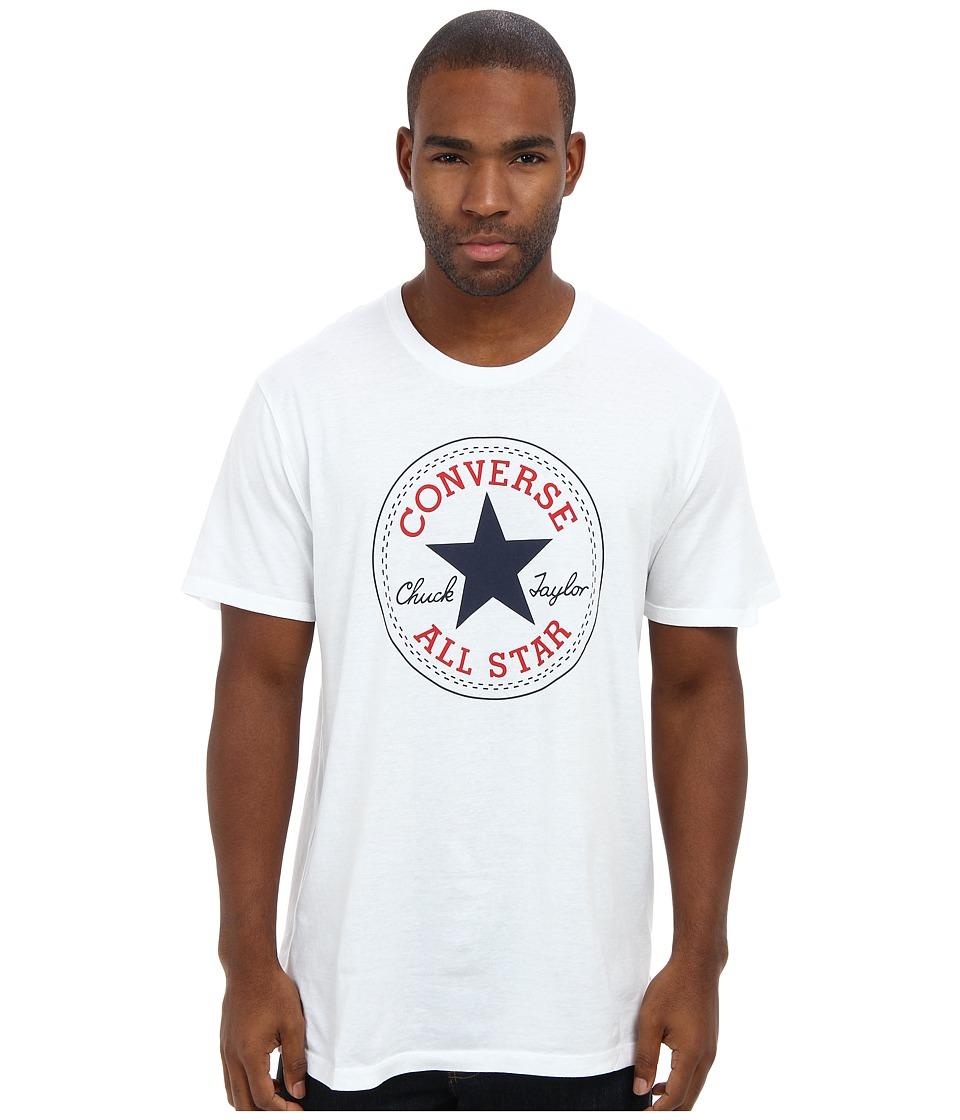 Converse - Core Chuck Tee (White) Men