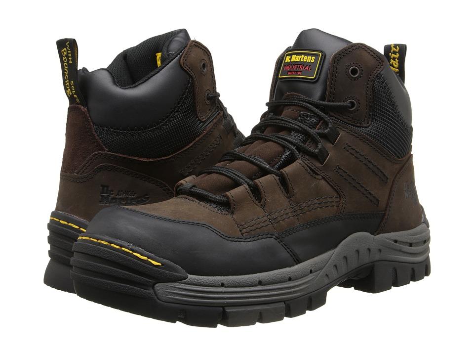 Dr. Martens Work - Truss 7-Tie ST Hiker (Gaucho/Dark Brown Volcano/WR Suede) Men