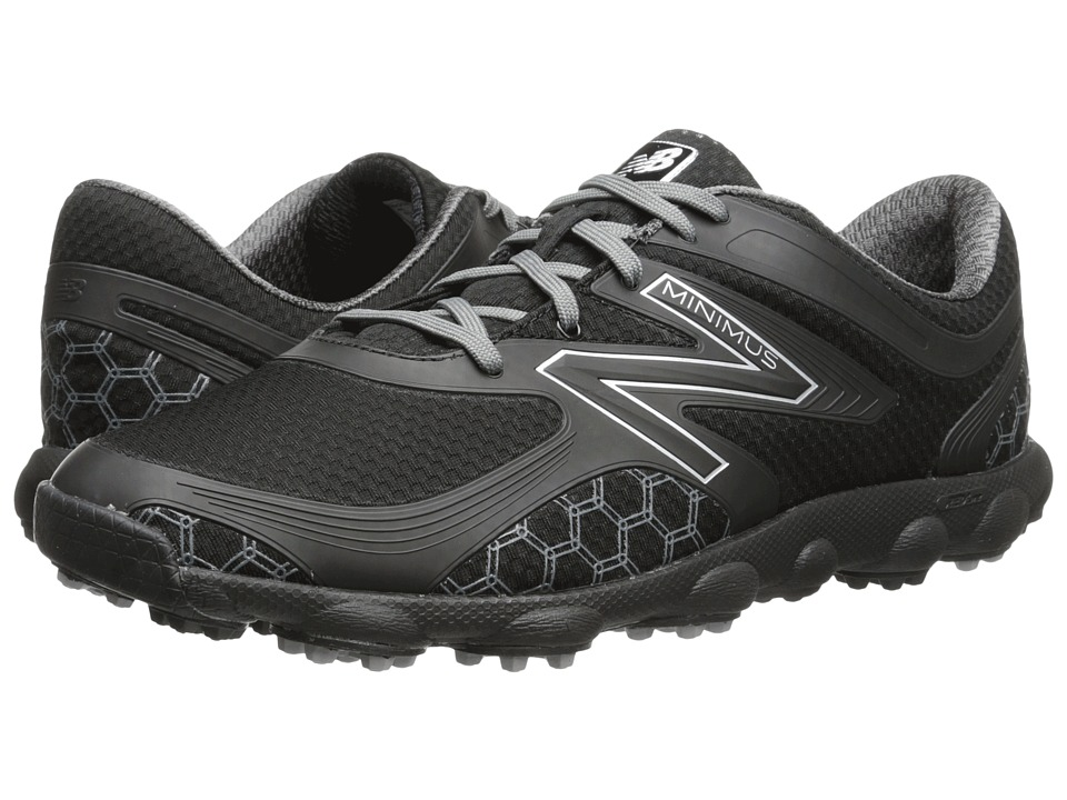 New Balance Golf Minimus Sport Black Mens Golf Shoes