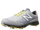 New Balance Golf NBG2002 Grey, Yellow Shoes