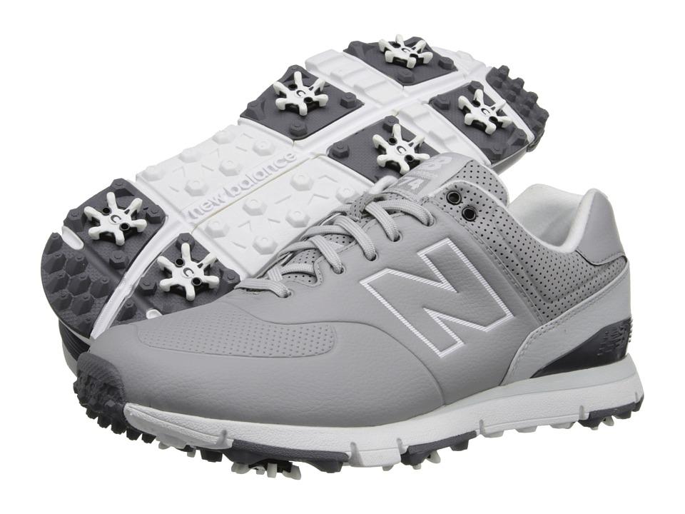 New Balance Golf NBG574 Grey Mens Golf Shoes