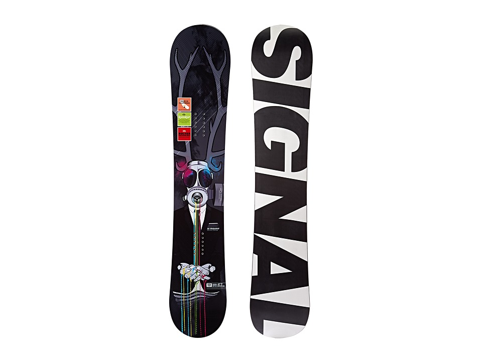 Signal - Troubadour 153 (Black/White/Grey) Snowboards Sports Equipment