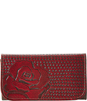 American West - Coming Up Roses Tri-Fold Wallet