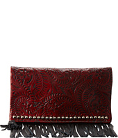 American West - Rockabilly Folded Clutch
