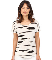 kensie - Animal Stripe Top