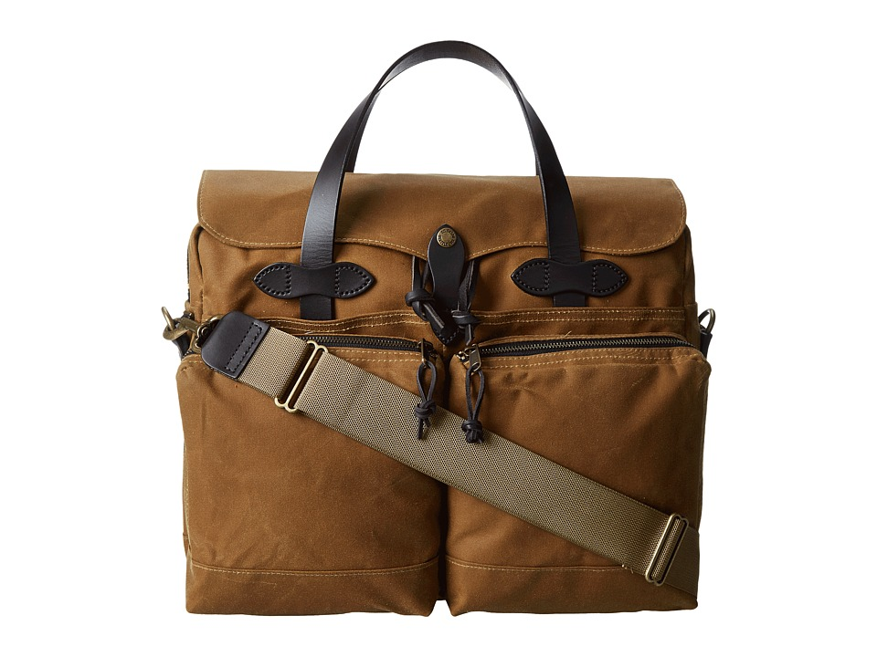 Filson 72 Hour Tin Briefcase Tan Briefcase Bags