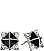 Sam Edelman - Interstate Enamel Pave Stud Earrings
