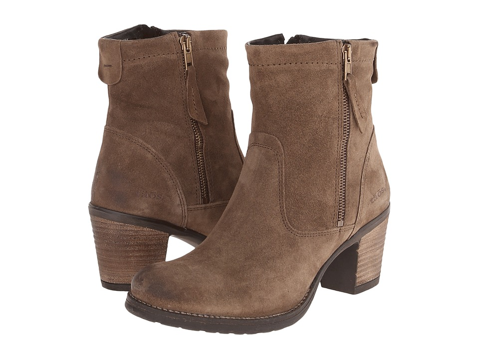 taos Footwear Shaka Taupe Suede Womens Boots