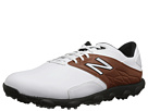 New Balance Golf Minimus LX White, Brown Shoes