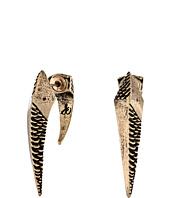 Sam Edelman - Snakeskin Snake Curved Drop Earrings