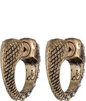 Sam Edelman - Waterfall Hinge Pave Hoop Earrings