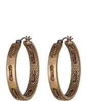 Sam Edelman - Waterfall Chain Stitch Hoop Earrings