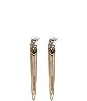 Sam Edelman - Waterfall Chain Pave Drop Earrings