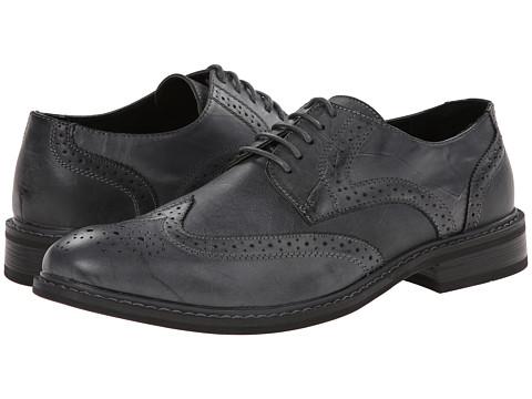 Perry Ellis Mens Milton Leather Oxfords