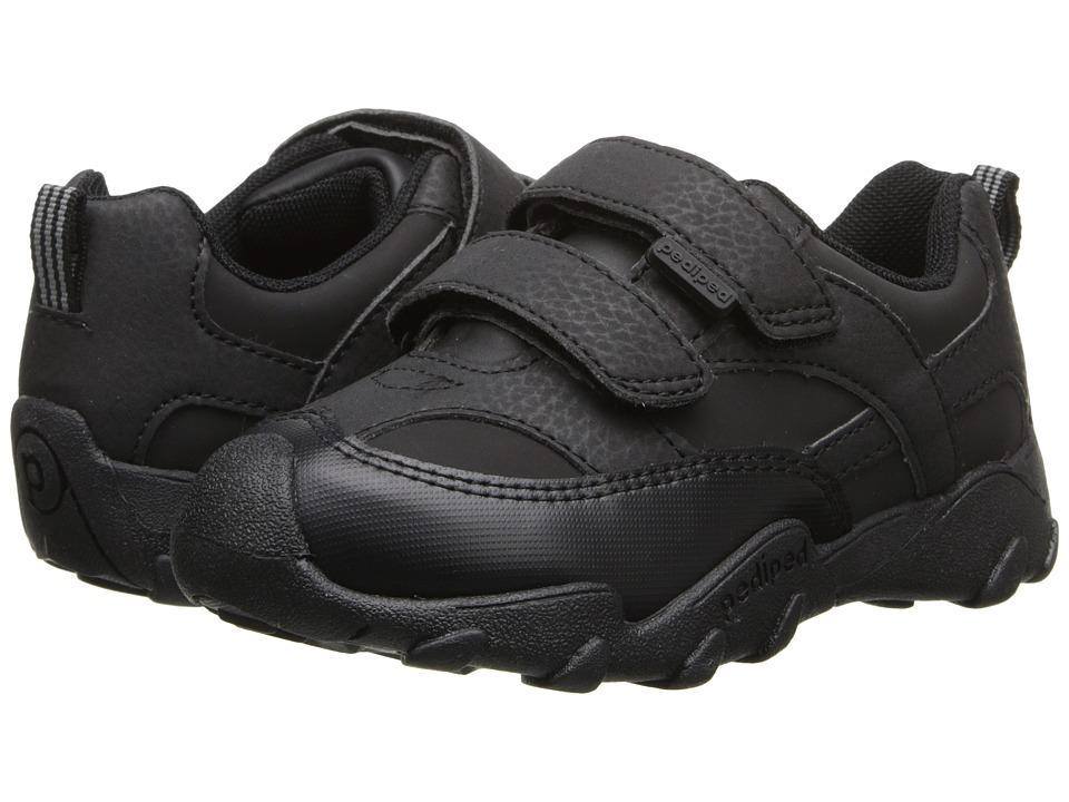 pediped Highlander Flex (Toddler/Little Kid/Big Kid) (Black) Boy's Shoes