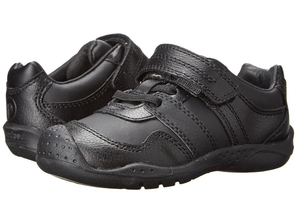 pediped Channing Flex (Toddler/Little Kid/Big Kid) (Black) Boy's Shoes