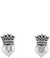 King Baby Studio - Baby Crowned Heart Post Earrings