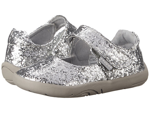 pediped Delaney Grip n Go (Infant/Toddler) - Silver