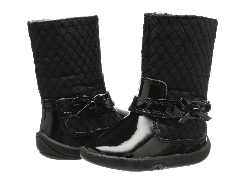 pediped - Naomi Boot Grip n Go (Infant/Toddler) (Black) Girls Shoes