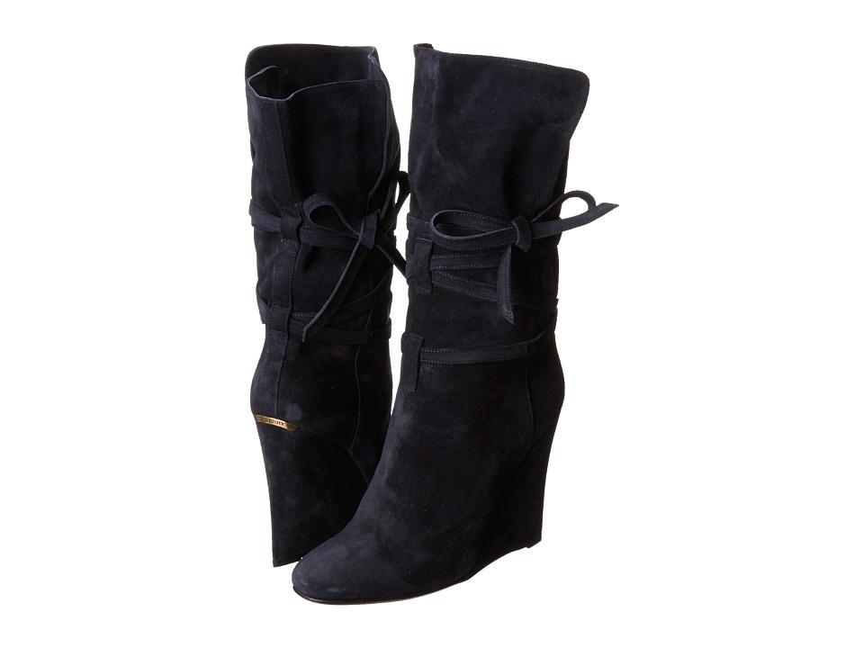 Burberry Cholney Ultramarine Womens Pull on Boots
