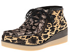 10 Crosby Derek Lam - Ezra (Camel/Black Animal Ikat Haircalf/Black/White Animal Ikat Haircal) - Footwear