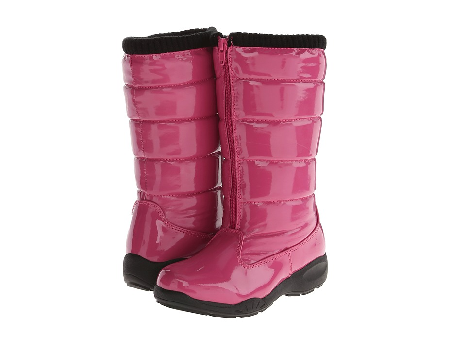 Tundra Boots Kids Puffy Little Kid/Big Kid Fuchsia Girls Shoes