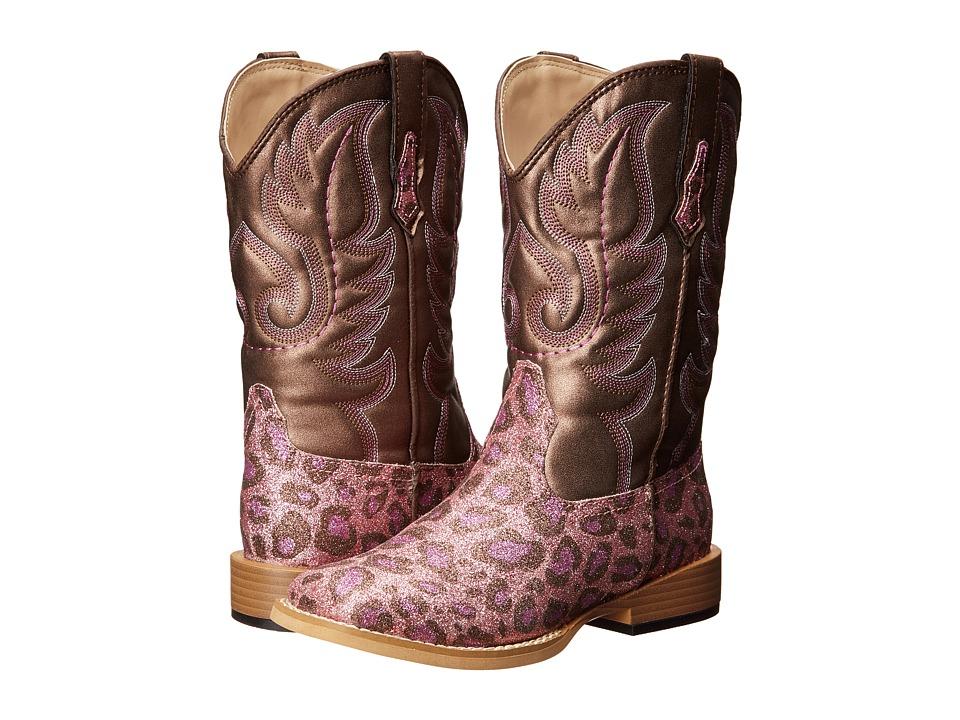 Roper Kids - Square Toe Glitter Boot