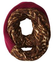 LAUREN by Ralph Lauren - Leopard Infinity Loop Scarf