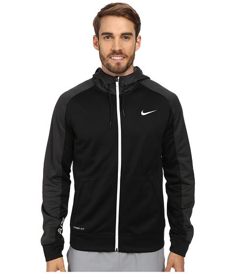 Nike Elite Stripe Full-Zip Performance Fleece Hoodie - Zappos.com Free
