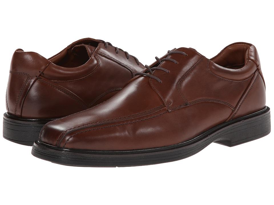 Johnston amp Murphy Pattison Runoff Lace Up Mahogany Waterproof Full Grain Mens Shoes