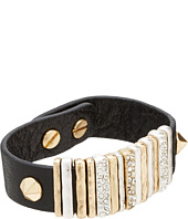 The Sak - Leather Pave Slider Bracelet