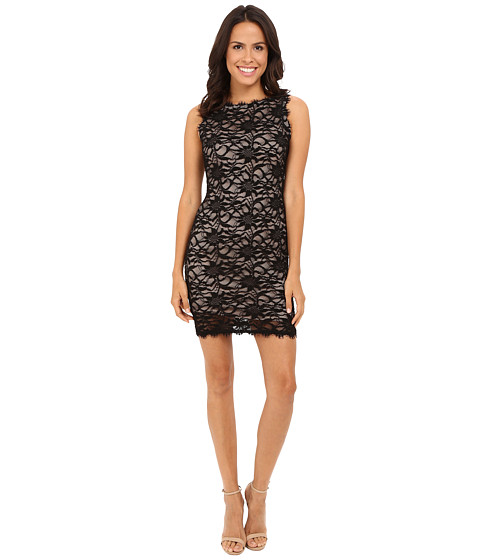 rsvp - Liona Lace Dress (Black) Women's Dress