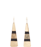 The Sak - Thread Paddle Drop Earrings