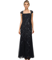 Adrianna Papell - Cap Sleeve Bead Dress