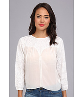 KAS New York - Lulu Hand Cut Emb Blouse