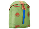 Will Leather Goods - Give Will Small Backpack (Lime Green) - Bags and Luggage