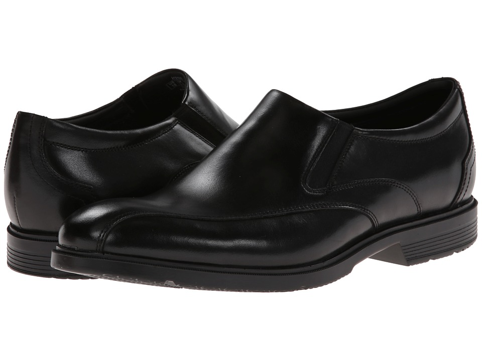 Rockport City Smart Bike Toe Slip On Black Mens Slip on Shoes