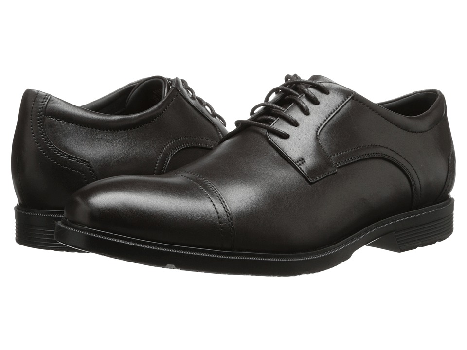 Rockport City Smart Cap Toe Oxford Dark Bitter Chocolate Mens Lace up casual Shoes