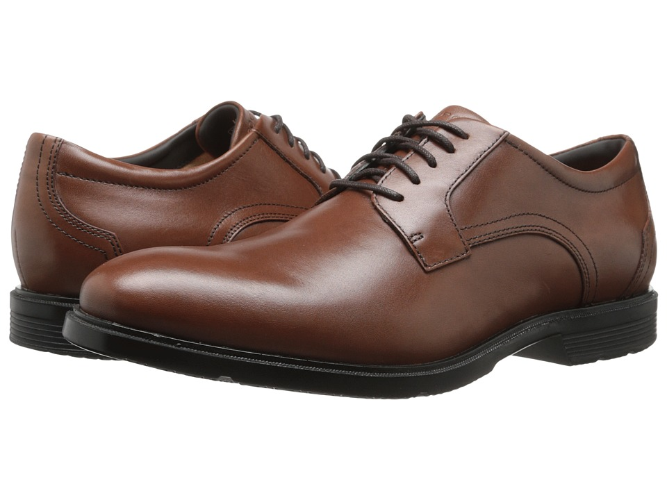 Rockport City Smart Plain Toe Oxford (Tan II) Men's Lace up casual Shoes