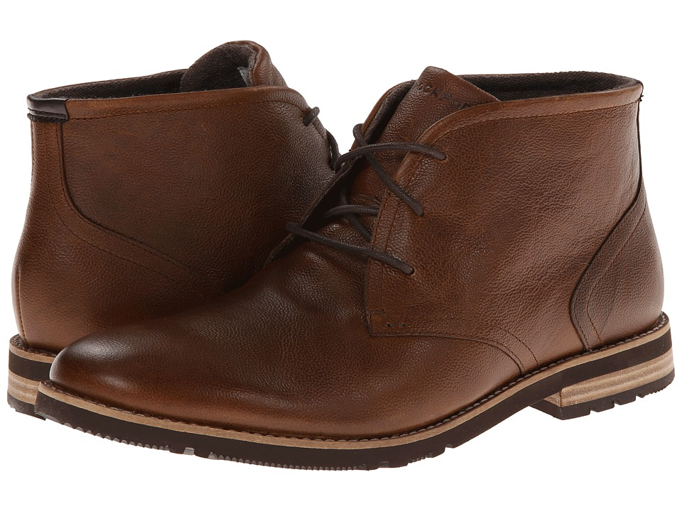 Rockport Ledge Hill 2 Chukka Boot (Driftwood (Tan)) Men